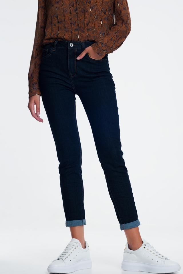 Jean classique Bleu d'encre
