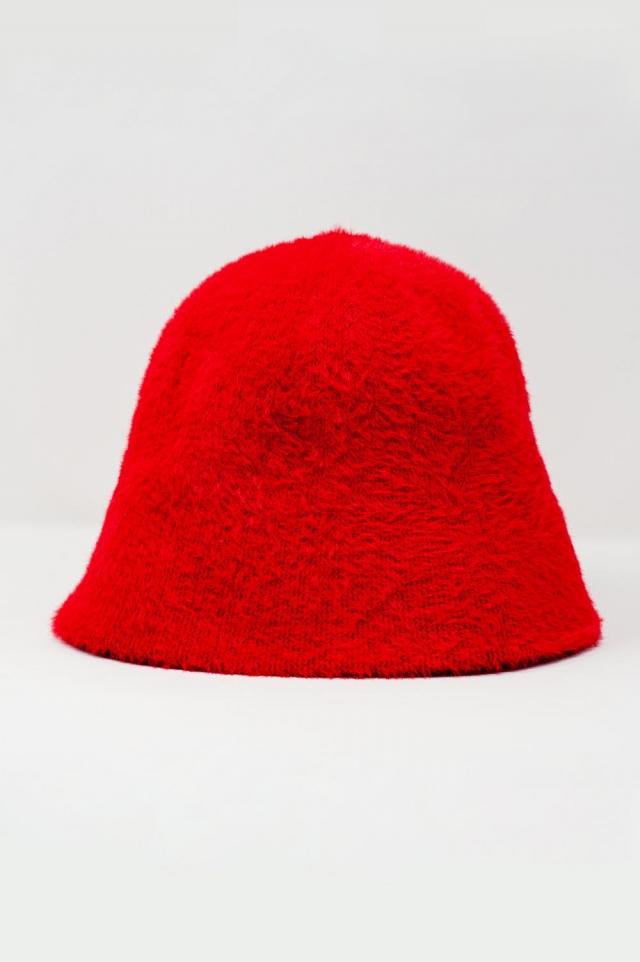 Rouge Bob en maille
