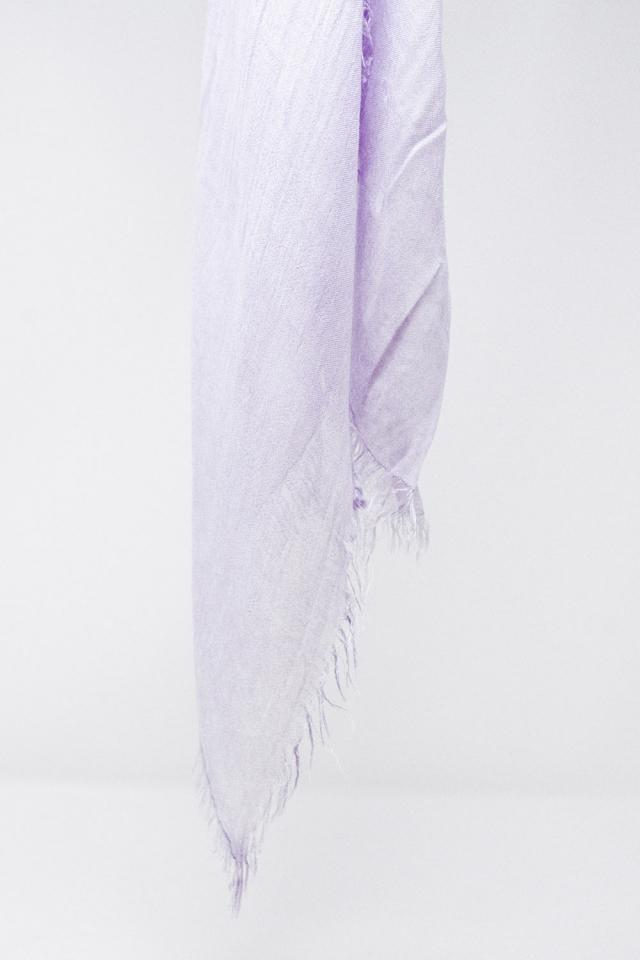 Écharpe légère en lilas